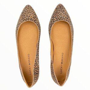 Animal Print Cheetah Leopard Ballet Flats 5.5 NWT